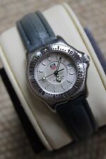 Tag Heuer NEW NWT WI1310 Silver S/EL RARE SEL Professional Womens Watch MINT