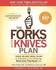 FREE 2 DAY SHIPPING | The Forks Over Knives Plan: How to Transition t, PAPERBACK