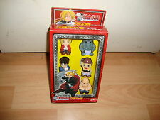 FULL METAL ALCHEMIST x 5 FIGURINES PETIT CHARA COLLECTION NEW IN BOX IN 2003