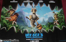 Cinema Poster: ICE AGE 3 DAWN OF THE DINOSAURS 2009 (Main Quad) Ray Romano