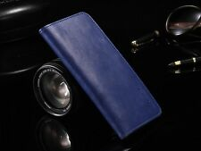 HQ Luxury Genuine Leather Magnetic Wallet Flip Card Case Cover For LG Model S001