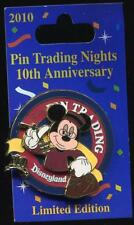 Trading Night Mickey Mouse Tower of Terror 10th Anniversary LE Disney Pin 80211