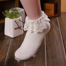 WHOLESALE 2015 Girl Socks Women Lace Socks Cotton Sock Ankle Socks Fancy Ruffle