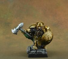 Painted Scibor Dwarf Lord 4 warrior character D&D