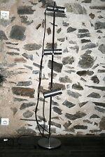 lampe lampadaire design vintage oriantable année 70 style alain Richard 3 spots