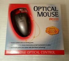 Logitec/Dexxa  PS/2 Optical Mouse retail New,Shipping Same Day!!!