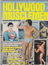 1979 HOLLYWOOD MUSCLE MEN magazine ARNOLD SCHWARZENEGGER/CHRIS REEVES/FERRIGNO