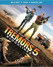TREMORS 5 :BLOODLINES (2015 Movie)  -Blu Ray - Sealed Region free