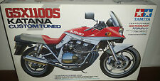 Tamiya GSX1100S Katana Custom Tuned 1/12 Motorcycle Series No. 65 1994