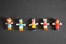 Disney PVC Figurines - Mickey Mouse, Minnie Mouse, Donald Duck, Daisy Duck