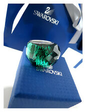 SWAROVSKI NIRVANA EMERALD RING SIZE EUR 52 / 6 NEW