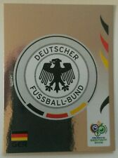 Panini Germany 2006 World Cup #18 Germany Team Badge