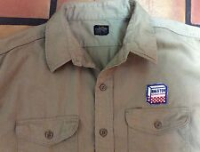 Vintage 50's LEE CHETOPA SANFORIZED TWILL WORK SHIRT RALSTON PURINA CEREAL CHOWS