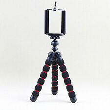 Small Tripod Upgrade Octopus Strength Sponge Black Light For iPhone&Samsung
