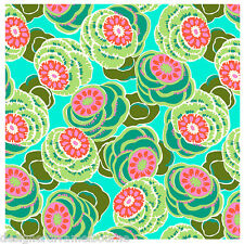 Amy Butler Dream Weaver Clouded Floral Sea glass F/Q or YRD , quilting fabric