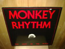 "MONKEY RHYTHM this must be the place - 12""  MAXI 45T EP"