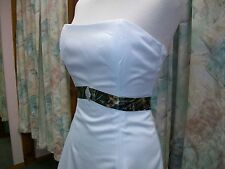 'Selina' Custom Made in the USA CAMO Wedding Gown with Belt