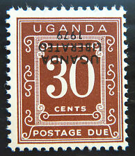 UGANDA 1979 30c Postage Due Liberation with INV/OPT U/M D4 SALE PRICE BN 999