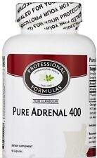 BEST PURE ADRENAL 400 NEW ZEALAND GLANDULAR SUPPLEMENTS FATIGUE TREATMENT HEALTH
