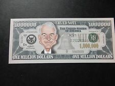 STEVE MARTIN $1 MILLION DOLLAR NOTE Novelty Bill $1,000,000 Actor Comedian Stand