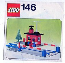 LEGO    146-1: Level Crossing    NOTICE / INSTRUCTIONS BOOKLET / BAUANLEITUNG