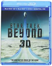 Star Trek Beyond 3D 3D (used) Blu-ray ** No Cover Art, No case