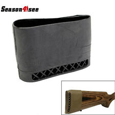 Max-Protection Heavy Duty Slip on Rubber Recoil Pad Black RIFLE GUN Hunting