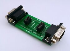 DB9 DSUB 9pin Male to Female Test / Measurement Adapter D36 : £6.75 FREE p&p