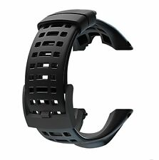 For suunto ambit3 peak ambit2 black elastomer strap