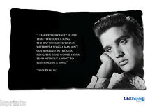ELVIS QUOTE DESIGN SMALL CUSHION IDEAL GIFT CAR TRAVEL ACCESSORY