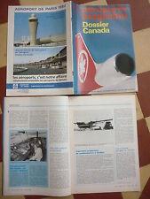 REVUE AEROPORTS DE PARIS 130 7/82 AIR CANADA AIRLINE KUUJJUAQ ALITALIA VIASA