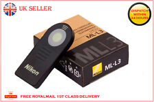 NIKON ML-L3 IR Wireless Remote Control MLL3 D5300 D5100 D5200 D3200 D60 D80 D90