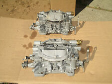 NICE! Carter COMPETITION SERIES 750 cfm AFB DUAL QUAD 2x4's Tunnel Ram Carbs