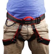 Harness Safety Waist Sit Belt Equipment Rappelling Rock Climbing for Adult