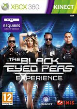 The Black Eyed Peas Experience ~ XBox 360 Kinect (in Good Condition)