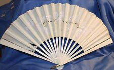Antique hand painted Wooden fan