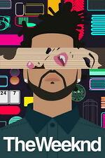 """217 The Weeknd - Abel Makkonen Tesfaye Singer Music 14""""x21"""" Poster"""