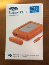 4TB Rugged Raid. Thunderbolt & USB 3.0
