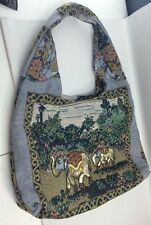 Tapestry Tote+NEW-Elephant Jungle  theme-Sequins, Beads,Intricate-SHIPS FREE