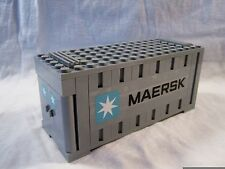 Lego Train City Creator Maersk Gray Container 10219/10233/10194 Mint