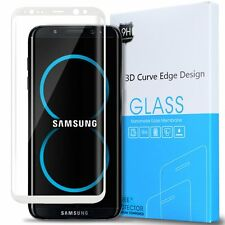 Samsung Galaxy S8 Plus Anti-Scratch Tempered Glass Screen Protector-White