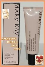 Mary Kay Foundation Primer Sunscreen Broad Spectrum SPF 15 Full Size FRESH!!!