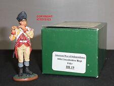 KING And Country BR19 decimo Lincolnshire REGGIMENTO fifer METAL giocattolo soldato figura