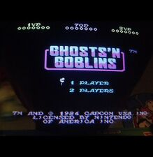 Nintendo Playchoice 10 Ghosts N' Goblins Cart Pc-10