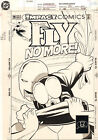 The Fly #16 Cover - Fly vs. Chromium - 1992 art by Mike Parobeck