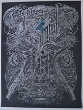 Aaron Horkey The Gilded Age Silver Variant Art Event Print Thinkspace Gallery
