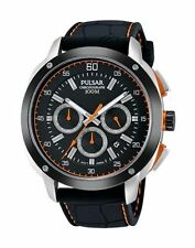 Pulsar Men's PT3515 On The Go Collection Chronograph Quartz Pulsar Watch