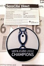 Spain EURO 2012 CHAMPIONS Football SportingiD Lextra SensCilia Badge Patch