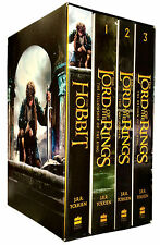J. R. R. Tolkien The Lord Of The Rings The Hobbit 4 Books Collection Box Set NEW