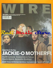 rivista WIRE 226/2002 Jaxkie-o Motherfucker Kevin Ayers Keith Levene * No cd